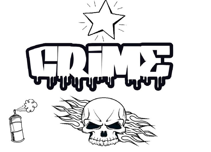 skull graffiti coloring pages  ausmalbilder zum
