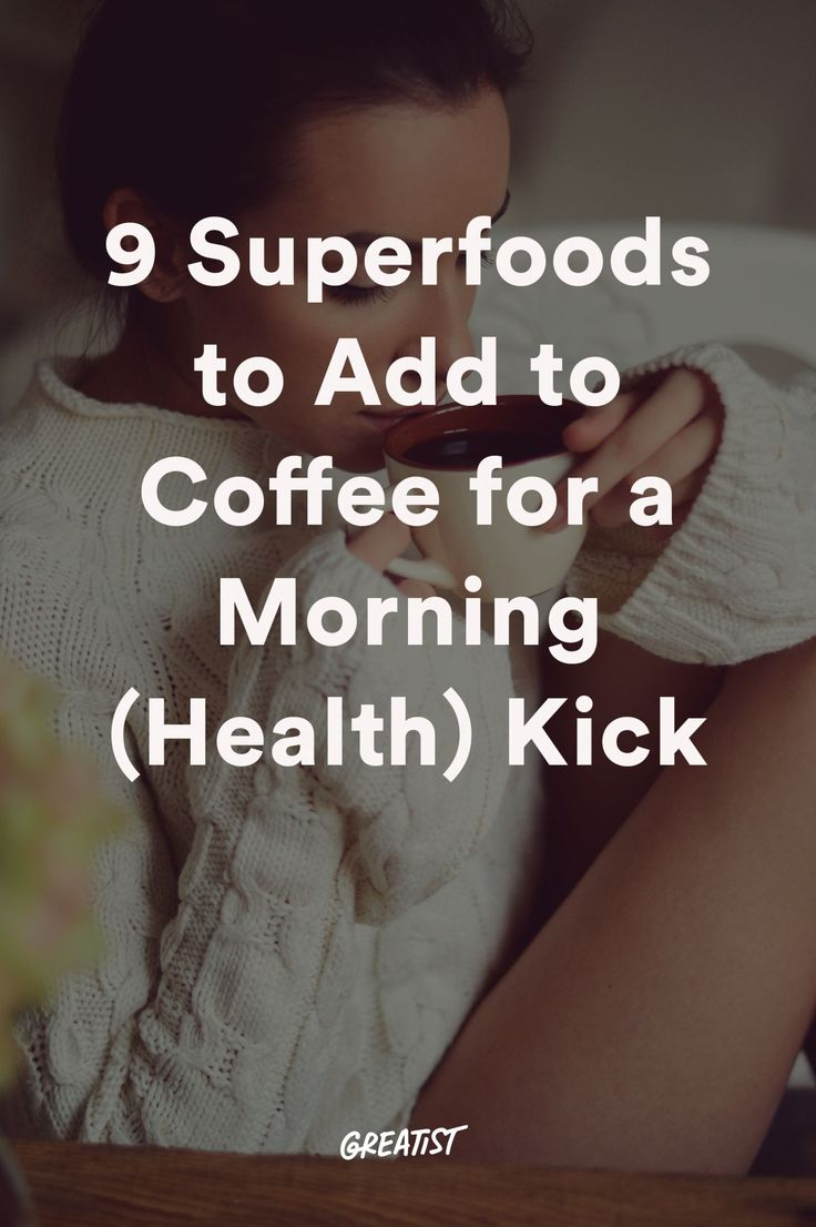 So you can justify that second (or fourth?) cup, here are a few of our favorite hacks to pack even more nutrition into your daily caffeine routine.