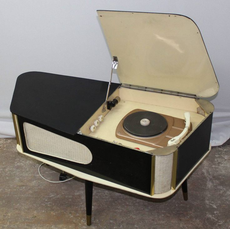 Stylish vintage record player / music centre                                                                                                                                                                                 More