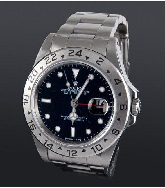 Reloj Rolex Explorer II Acero Caballero 16570