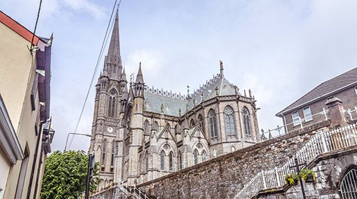 St. Colman's Catholic Cathedral in Cobh, County Cork, Ireland, has the largest number of Carillon Bells in Ireland and the UK (49 bells).