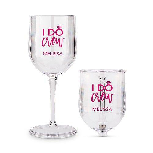 I Do Crew collapsable wine glass