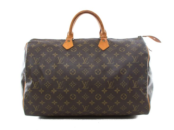 Authentic Louis Vuitton Vintage Monogram Speedy 40 handbag M41522