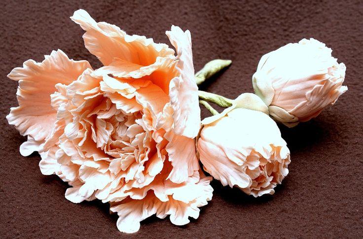 gum paste peony — Flowers