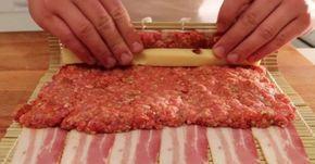 Darált húst és sajtot teker a szalonnába, majd megsüti! Imádni fogod!   EgybeMinden Blog