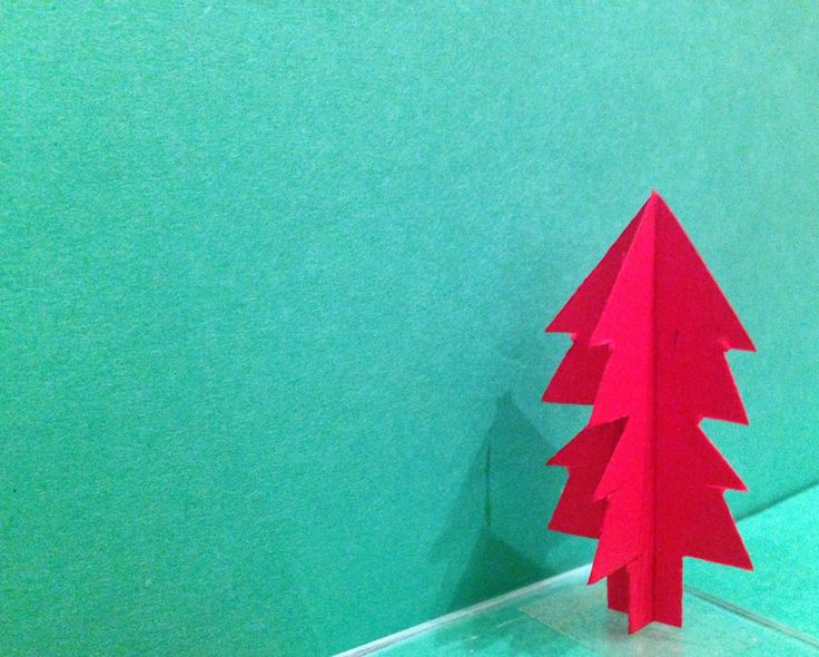 An alternative Christmas Tree Handmade /craft 2014 #craft #tutorial #christmas #handmade