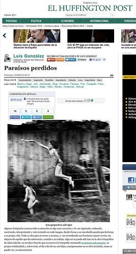 Post Huffington: Alain Laboile / Paraísos perdidos