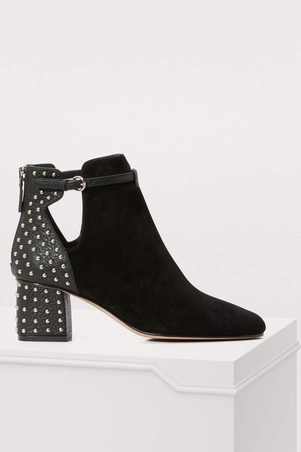 c4af975c8fe04 RED Valentino Studded booties  Valentino