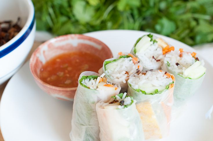 Vietnamese Salad Rolls with Shiso and Tofu (Gỏi cuốn) – Recipe