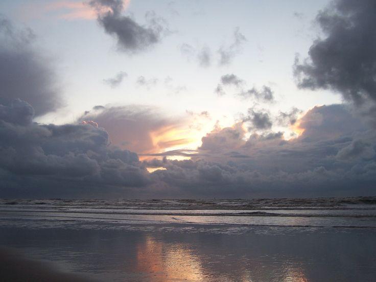 Sunset beach Egmond aan Zee