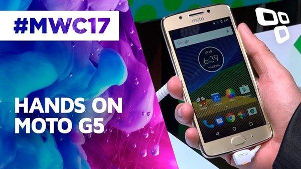 Moto G5: veja o que achamos desse novo smartphone da Lenovo na MWC 2017