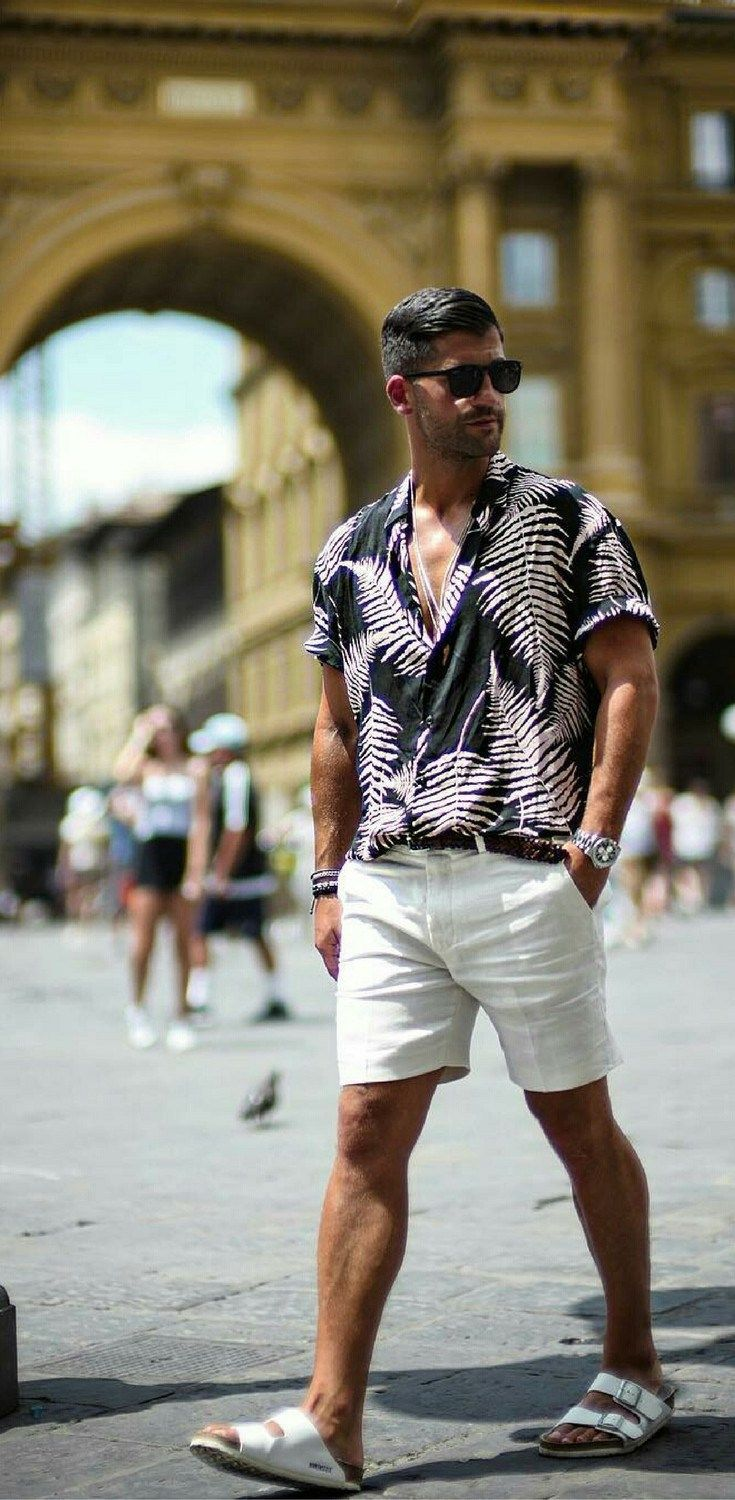Printed shirt outfit www.99wtf.net/…