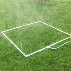How to Build a PVC Sprinkler for your Vegetable Garden  There are a variety of options when it comes to making sure your garden is properly hydrated.