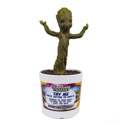 Guardians of the Galaxy Electronic Dancing Baby Groot Figure