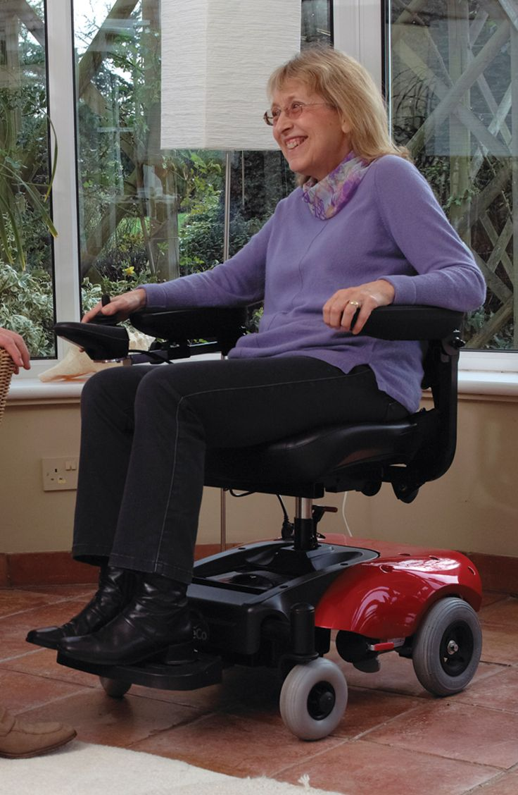 Ideal for use indoors the Easi Go Electric Wheelchair can be broken down into 5 manageable pieces perfect for storing in the boot of a car.