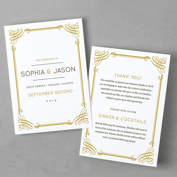 Best 25+ Program template ideas on Pinterest Wedding program - wedding brochure template