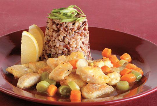 Trefa Supermarket - Recepty - Hlavní jídla -  Citronová ryba
