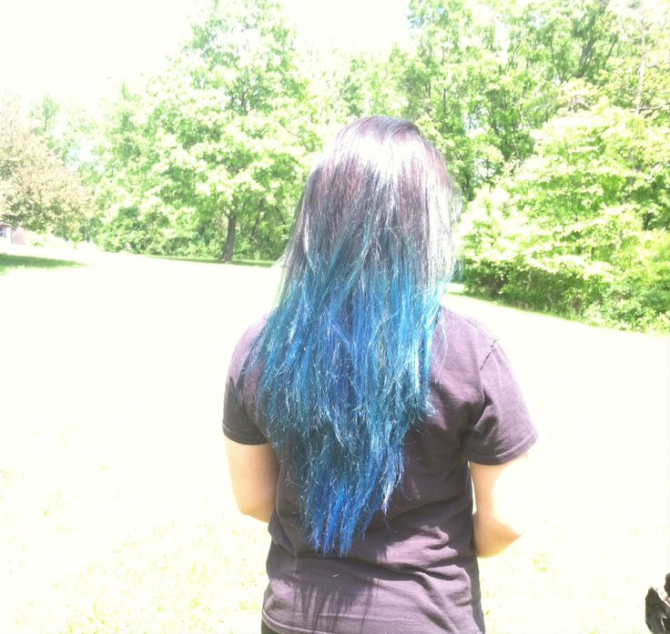 Manic Panic Midnight Blue! Tried it out on my own hair and I love it !