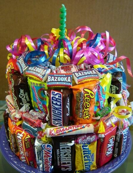 110 best Candy Cakes images on Pinterest Birthdays Gift ideas and