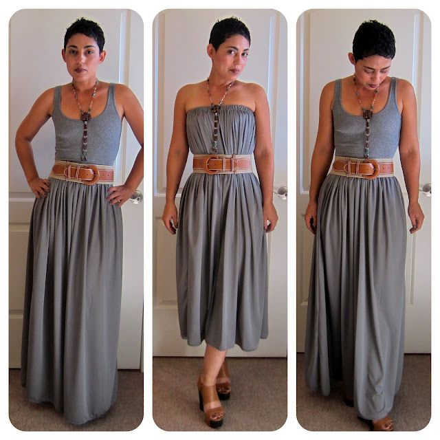 free maxi skirt tutorial