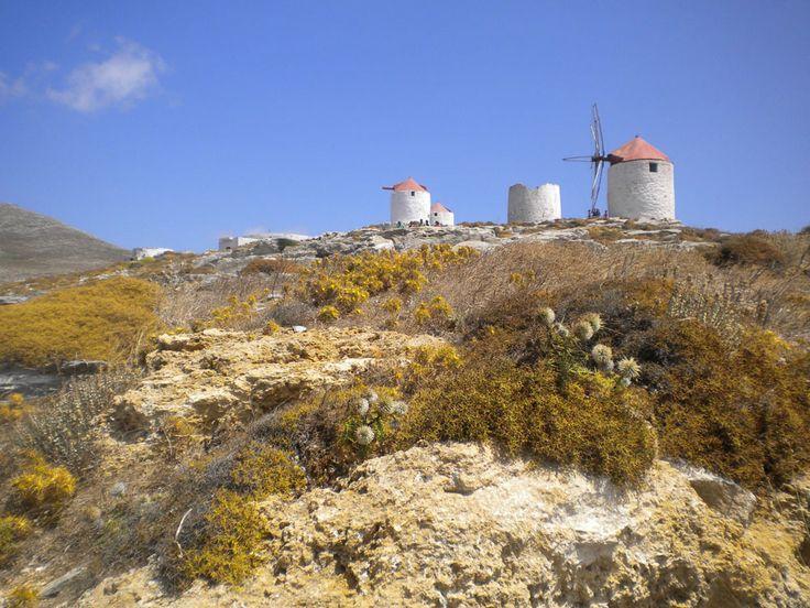 Photos Amorgos island Aegiali beach Hozoviotissa Levrossos