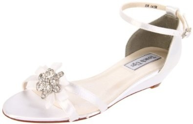 wedding wedge sandals :). I really like these