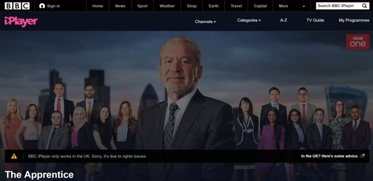 How to Watch The Apprentice Live Online Outside of the UK 2017