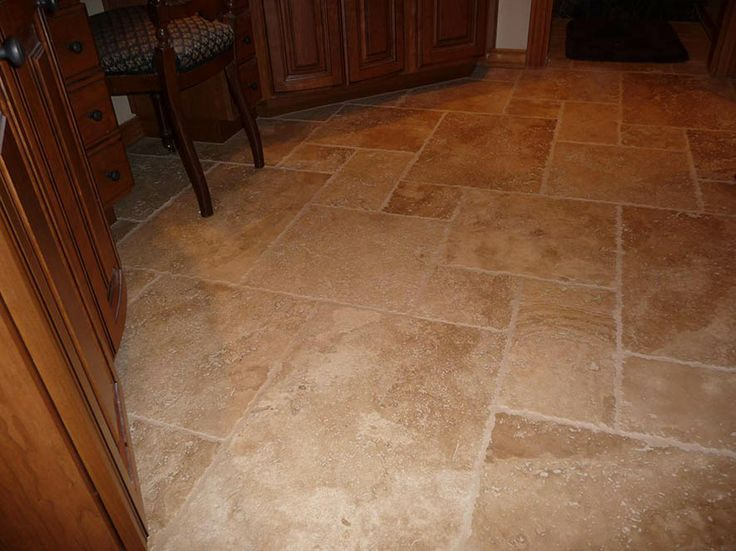 Stone Flooring For Kitchen Travertine Flooring Wood