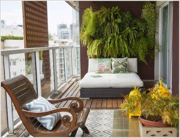 11 les meilleures images concernant aménager un petit balcon sur ...