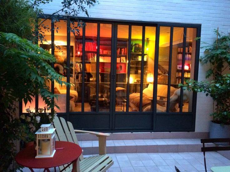 les 25 meilleures id es de la cat gorie baie coulissante sur pinterest tag re coulissante le. Black Bedroom Furniture Sets. Home Design Ideas