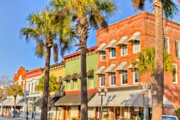 Beautiful Downtown Brunswick, GA - www.classiccoastalhomesgroup.com