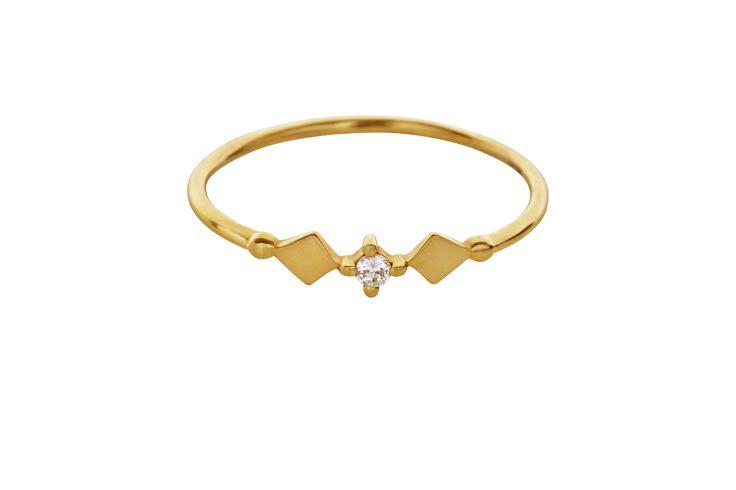 KItah gold ring in 14 K.