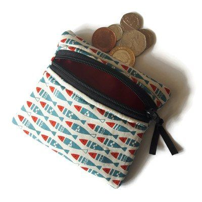 Buy Fish coin purse. Handmade by creative people crafting through DISABILITIES, CHRONIC ILLNESS or are CARERS