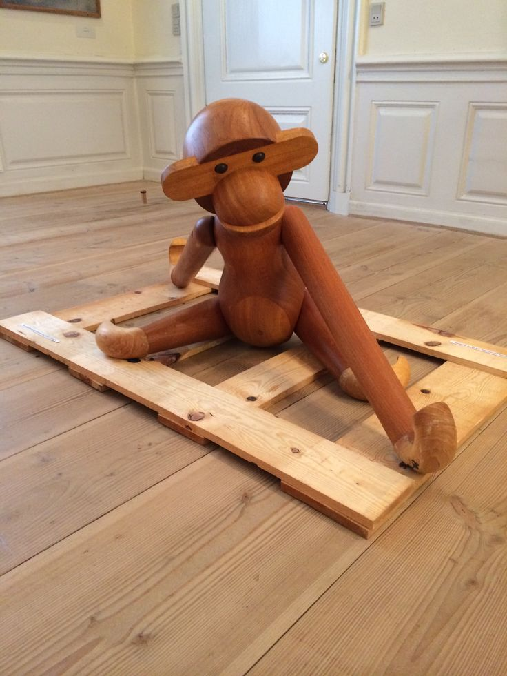 The best known monkey in the world was designed in 1951 by Kay Bojesen.