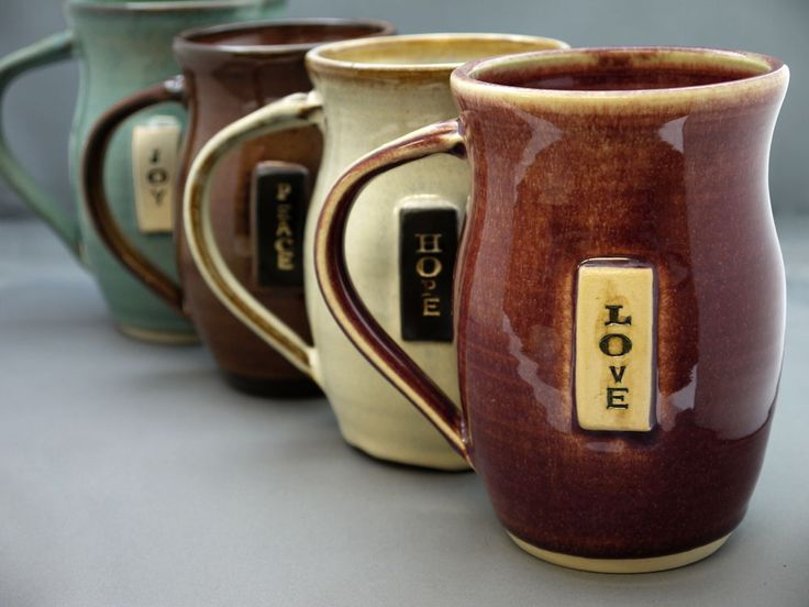 """The MOA Shop: """"Ceramic Mugs"""" by Vancouver-based company JustPotters."""