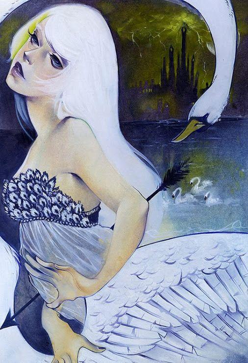 Portrait Illustrations by Kelsey Beckett