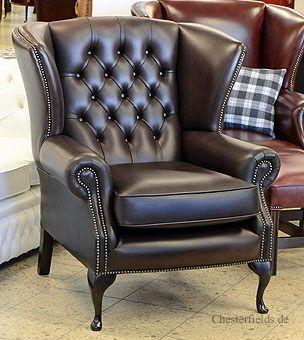 Ohrensessel mit modernem Twist: Colchester Wing Chair