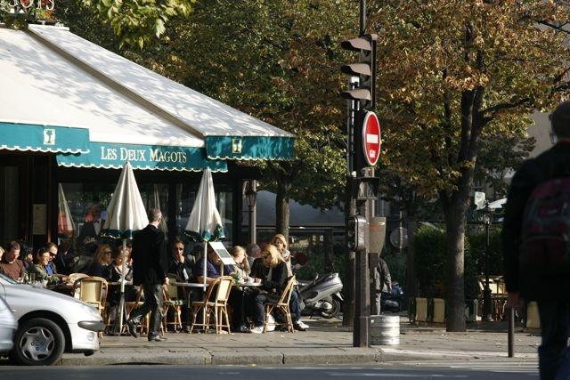Café Les Deux Magots, Mythique!