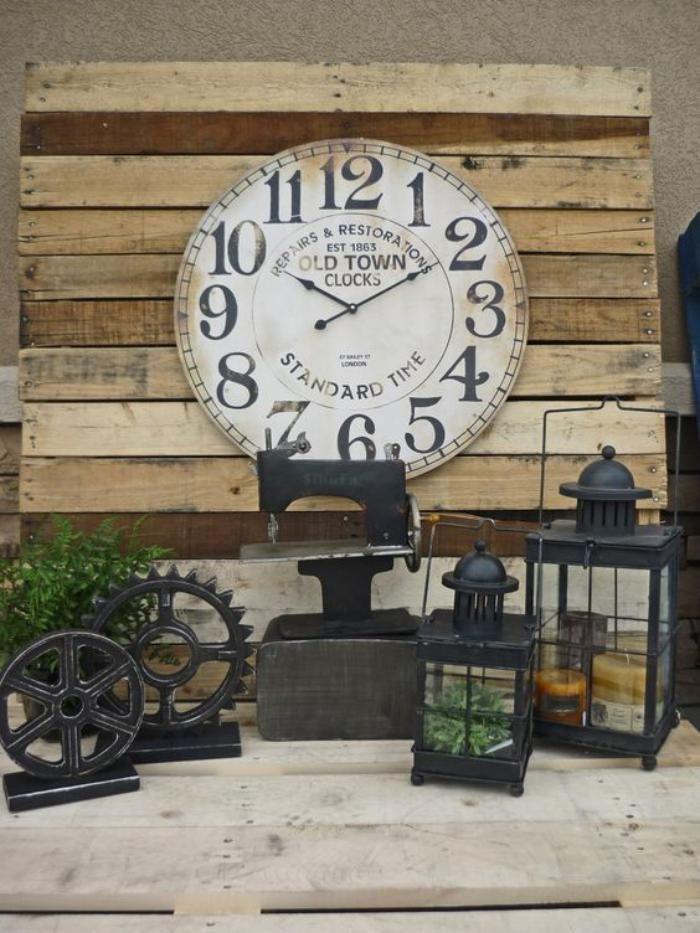 les 25 meilleures id es de la cat gorie horloge murale. Black Bedroom Furniture Sets. Home Design Ideas
