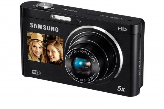 Câmera com Visor na Frente : Samsung Smart Câmera