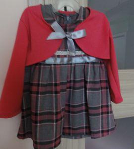 Komplet sukienka z bolerkiem NOWA http://dzieciociuszek.pl/products/24789