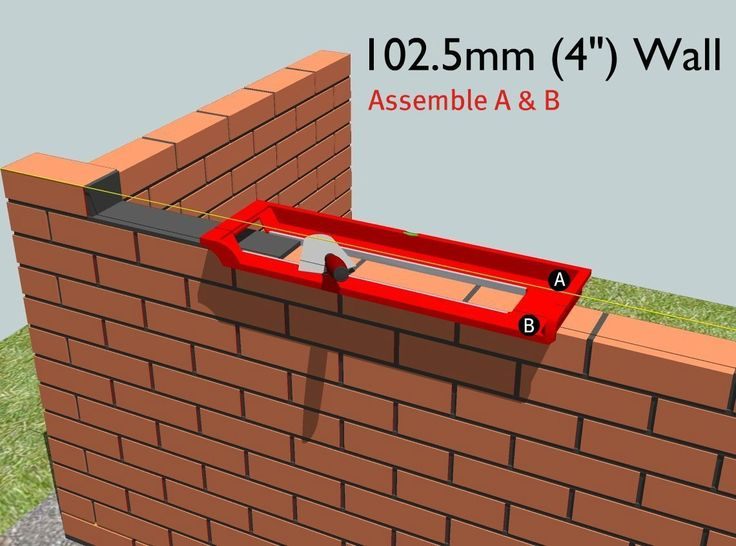 7 best bricky wall building tool images on pinterest for Como levantar una casa