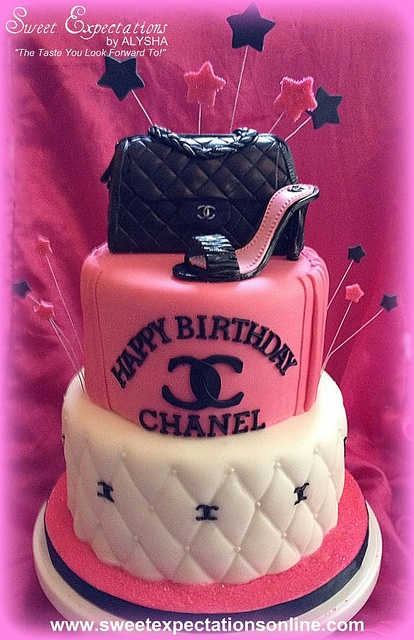 Chanel Cake, via Flickr.