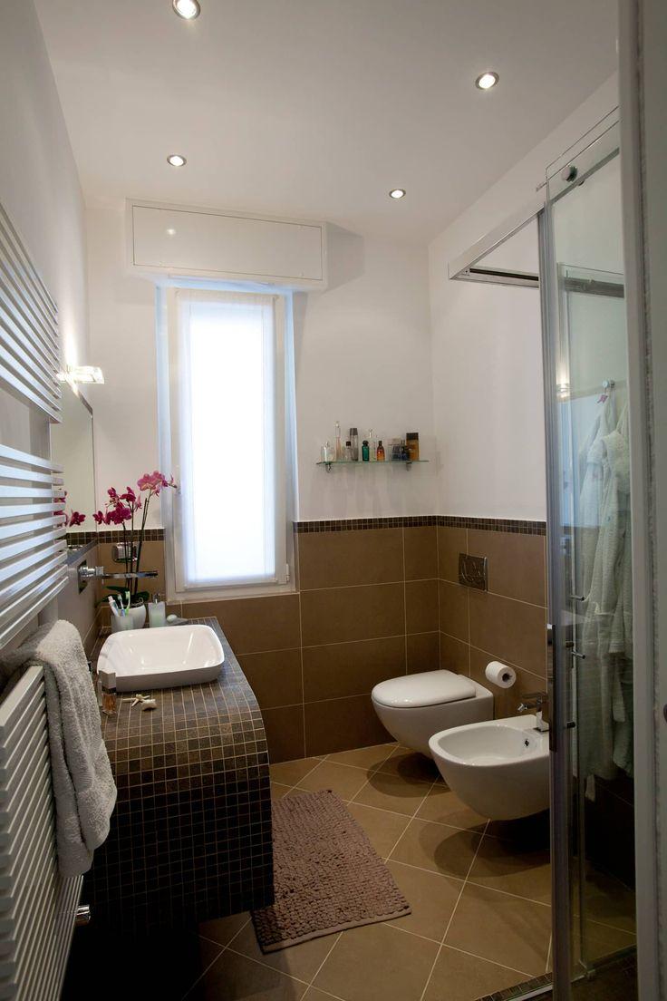 Appartamento privato rapallo bagno minimalista di studio_p