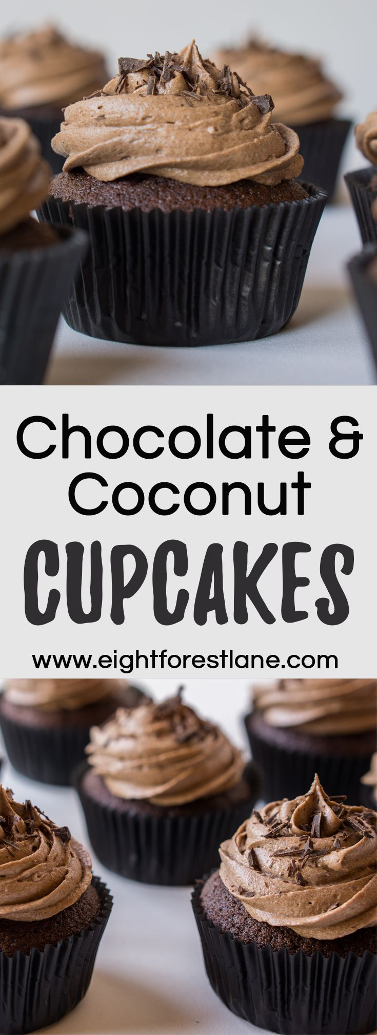 Chocolate & Coconut Dairy-Free Cupcakes