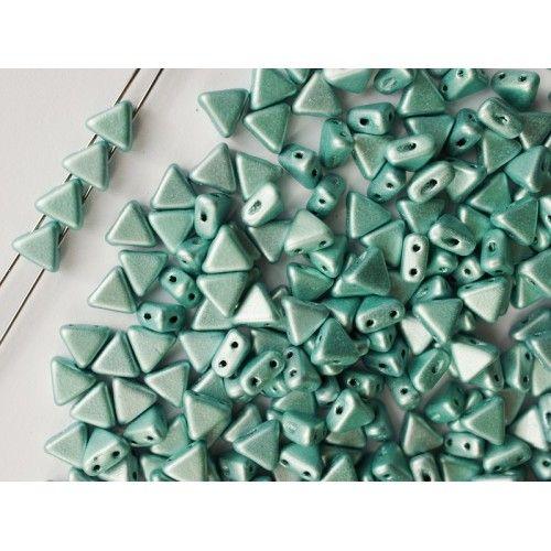 http://www.scarabeads.com/Glass-BEADS/Kheops-par-Puca/Metallic-Mat/50pcs-Kheops-par-Puca-6mm-2-hole-Czech-Glass-Pressed-Beads-Metallic-Mat-Green