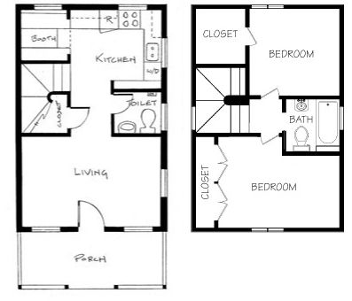 best 25 tiny houses floor plans ideas on pinterest - Floor Plans For Houses