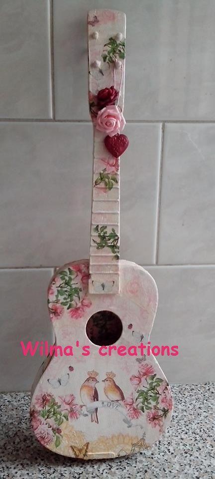 Decoupage. Wilma's creations
