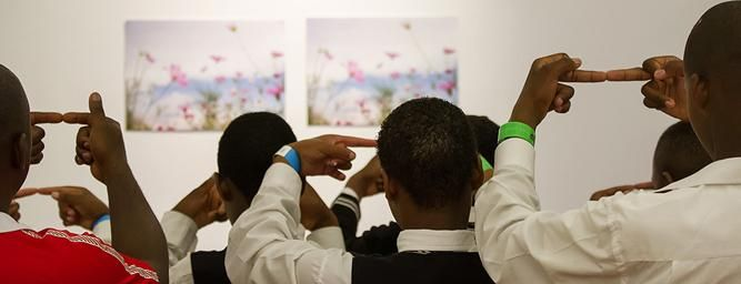 "2015 ""3D_Scene"" is an interactive, education-based, visual art exhibition conceptualised to coincide with SciFest Africa 2015 with the theme of ""The Year of Light.""  ""3D_Scene"" centres on pairs of photographic prints presented stereoscopically, a technique that creates or enhances the illusion of depth (3D) in two dimensions (2D) without specialised equipment. It is for printing these images and for an accompanying educational flyer that funding is provided for by ACT and Nedbank Arts…"