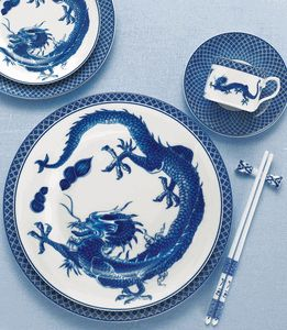 dragon dinnerware